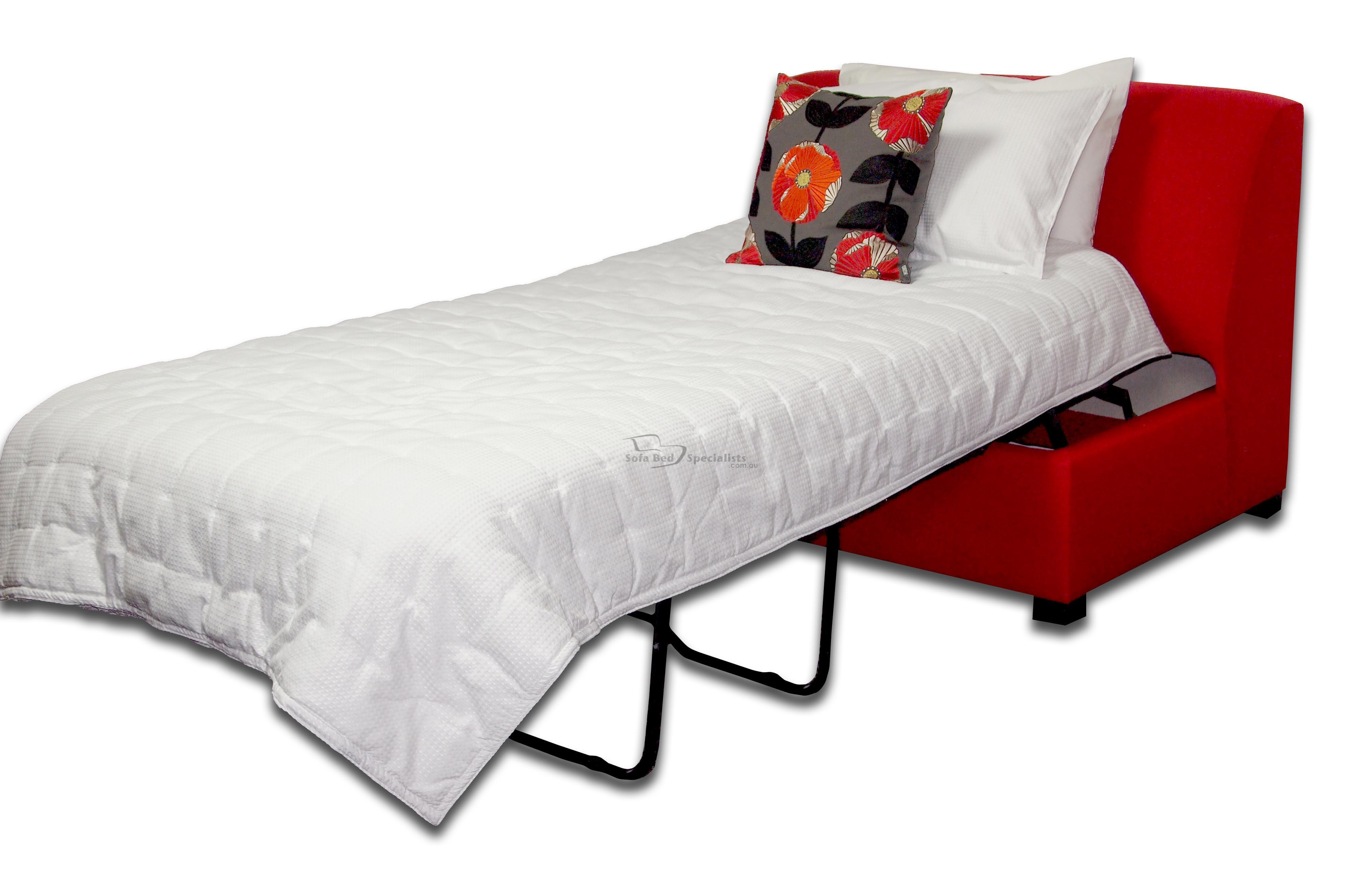 Brisbane Armless Single Sofabed Sofa Bed Specialists