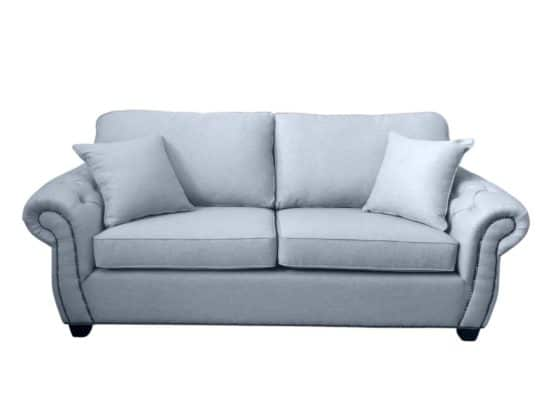 Chesterfield Heritage Sofabed in Warwick Keylargo Zinc Fabric
